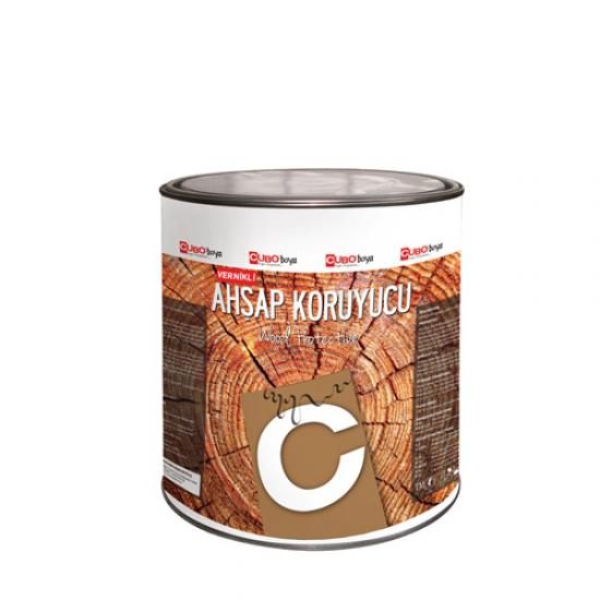 Cubo Vernikli Ahşap Koruyucu Koyu Meşe 0,75 Lt