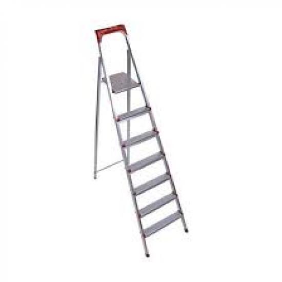 6 Basamaklı Statik Merdiven Gri