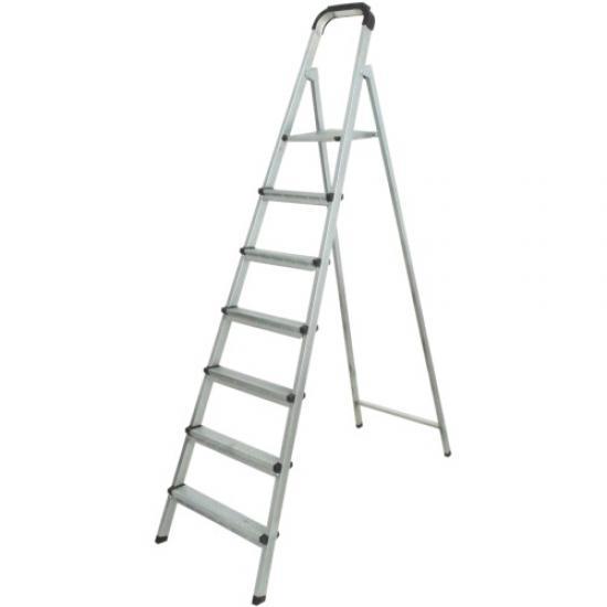 9 Basamaklı Statik Merdiven Gri