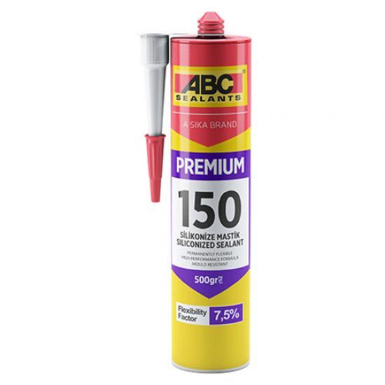 ABC 150 Silikonize Akrilik Esaslı Derz Dolgu Mastiği Beyaz 500 Gr