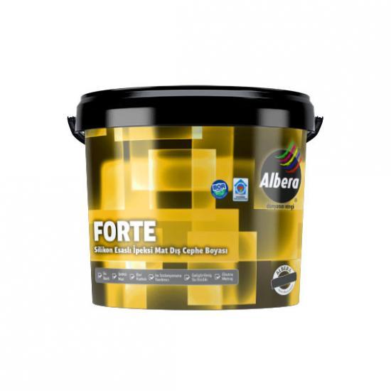 Albera Forte Silikonlu İpek Mat Dış Cephe Beyaz  7,5 Lt