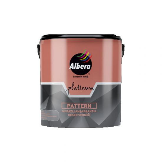 Albera Platinum Pattern Antik Desen Verniği 0,75 Lt