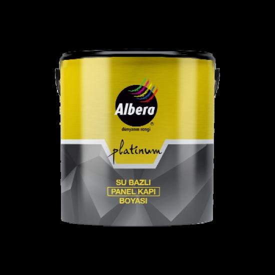 Albera Platinum Su Bazlı Panel Kapı Boyası Beyaz  0,75 Lt