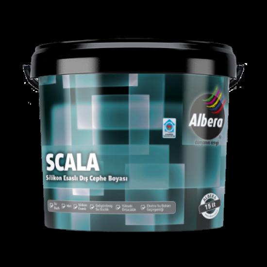 Albera Scala Silikonlu Dış Cephe Beyaz  15 Lt