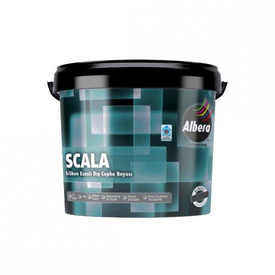 Albera Scala Silikonlu Dış Cephe Beyaz  7,5 Lt