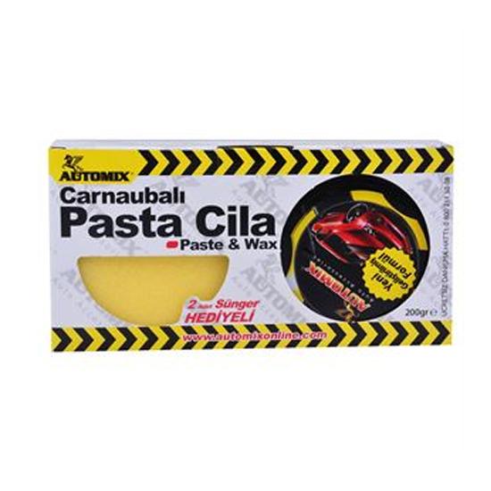 Automix Carnaubalı Pasta Cila Kutulu