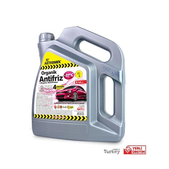 Automix Pembe Antifriz -37° Organik 3 Lt