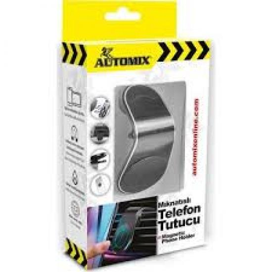 Automix Yassi Mıknatıslı Telefon Tutucu