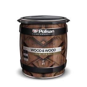 Polisan Wood&Wood Tik Yağı 2,5 Lt