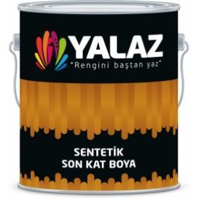 Yalaz Sentetik Enamel 8000 Latte 15 Kg