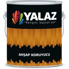 Yalaz Vernikli Ahşap Koruyucu 8010 Koyu Meşe 2,5 Lt