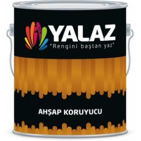Yalaz Vernikli Ahşap Koruyucu 9999 Naturel 12 Lt